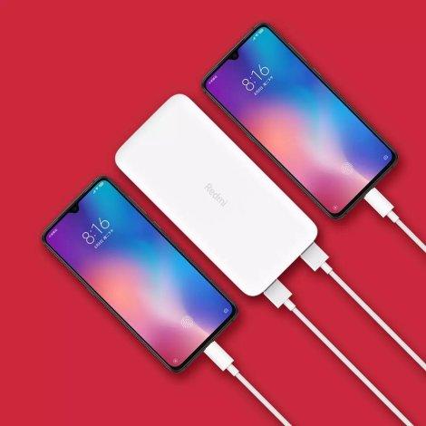 Xiaomi Redmi Power bank 20000 mAh sa dva mobitela