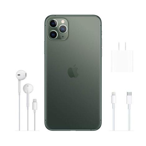 Apple Iphone 11 Pro MAX 64GB zeleni sa slušalicama