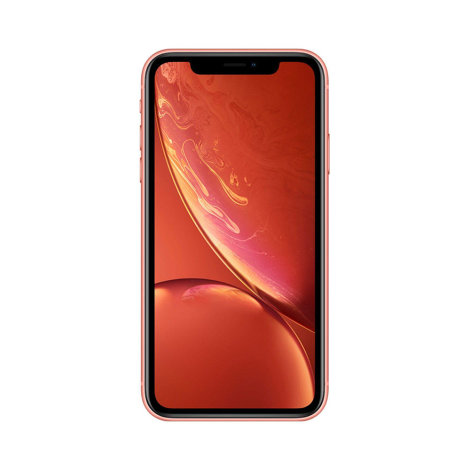 Apple iPhone XR 128GB coral frontalno