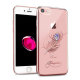 Swarovski Iphone7/8 Feather Rose
