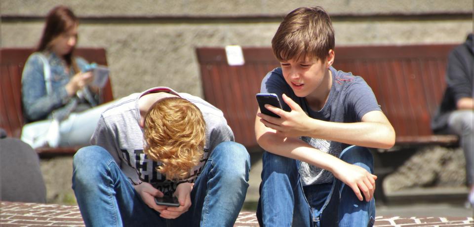 Stranica za upoznavanje na mobilnom telefonu